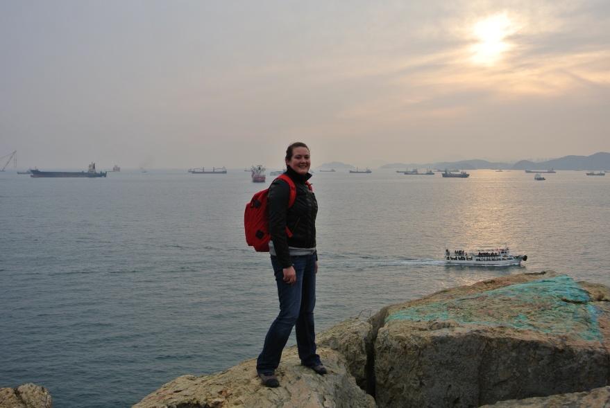 Busan Harbor View